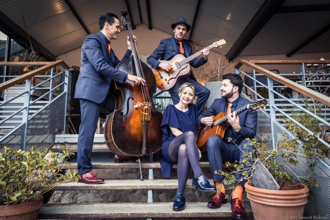 Standards et bianca groupe jazz swing et pop