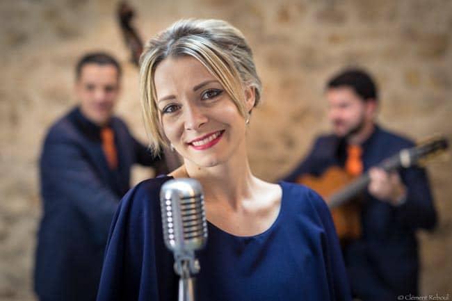 Standards et bianca quartet jazz swing avec chanteuse